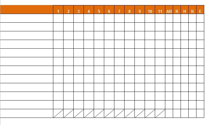 Baseball Stats Excel Spreadsheet