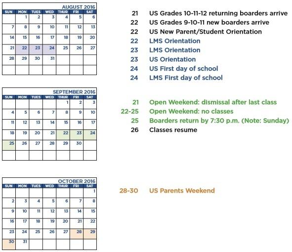 Event Planning Calendar Template