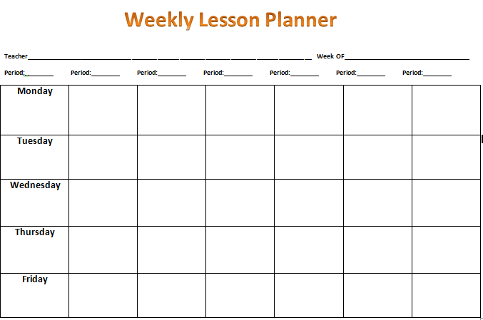 weekly multi period