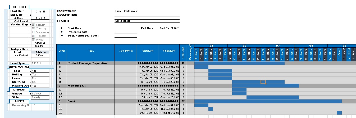 gantt chart download
