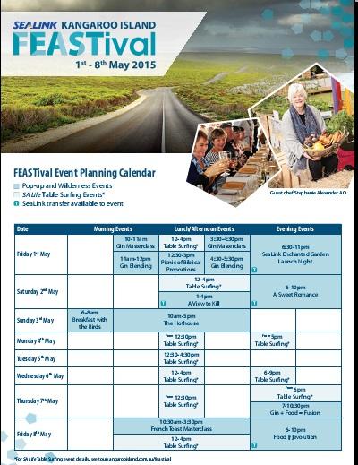 sample calendar of activities template
