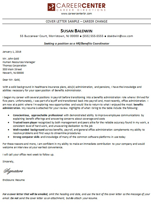 25 Free Career Change Cover Letter Templates Word Excel Templates