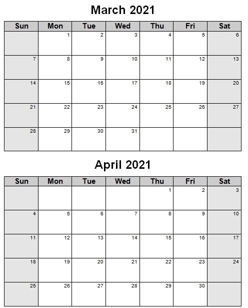 semester calendar template