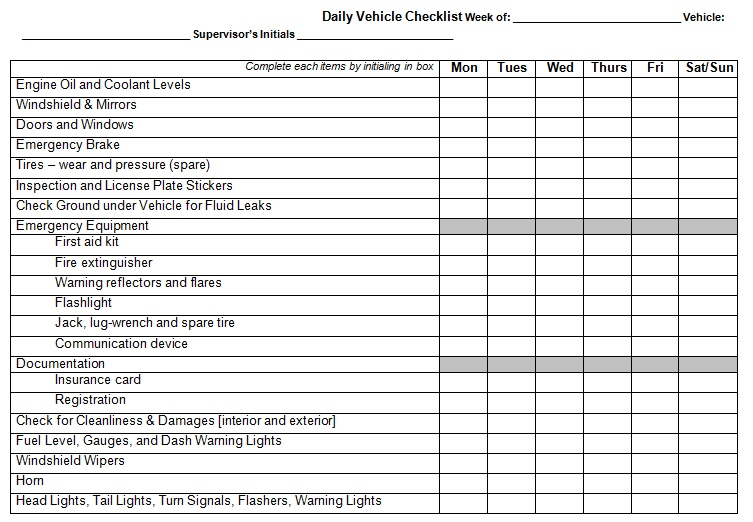 vehicle log book template word free download