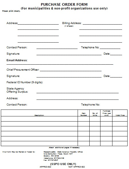 quickbooks purchase order template