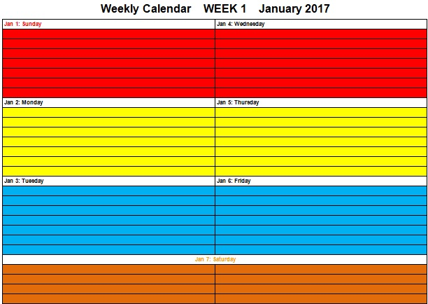 timetable for study for a student at home