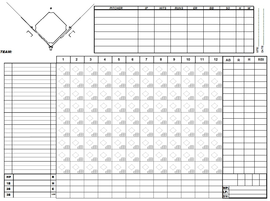 baseball scorecard pdf