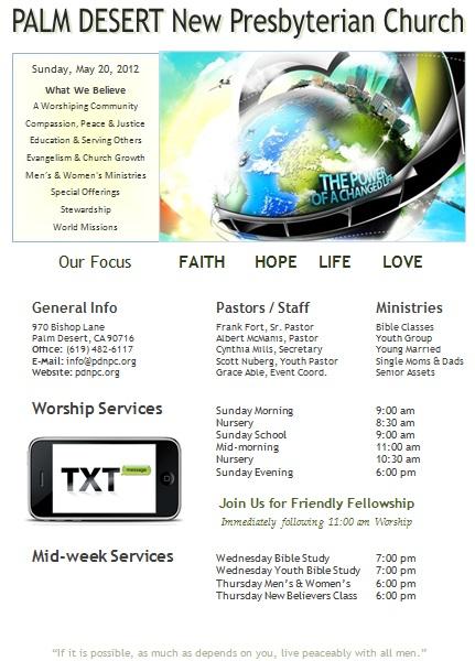 catholic mass booklet template