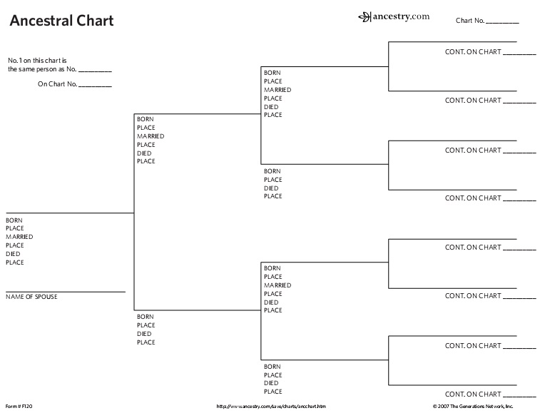 Simple Family Tree Chart Template Free Download