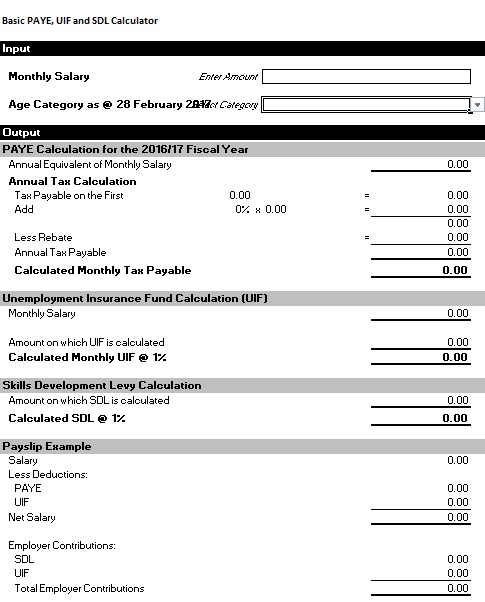 salary slip calculator