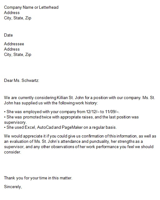 job confirmation letter sample from employer
