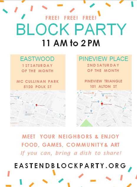 block party flyer template 11