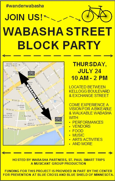 block party flyer template 14