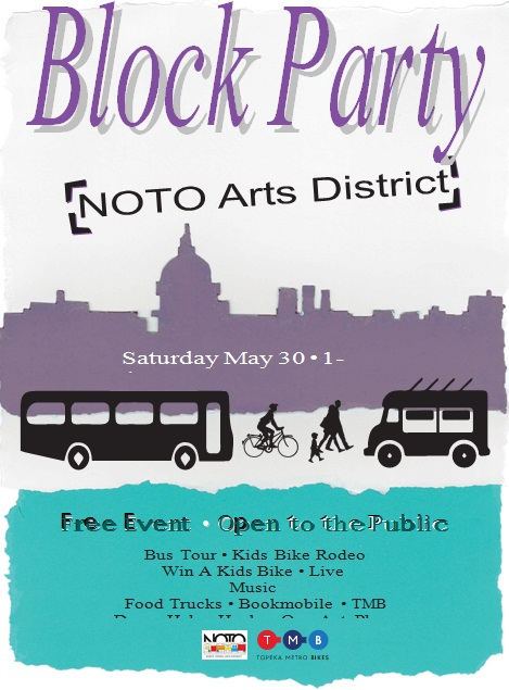 block party flyer template 8