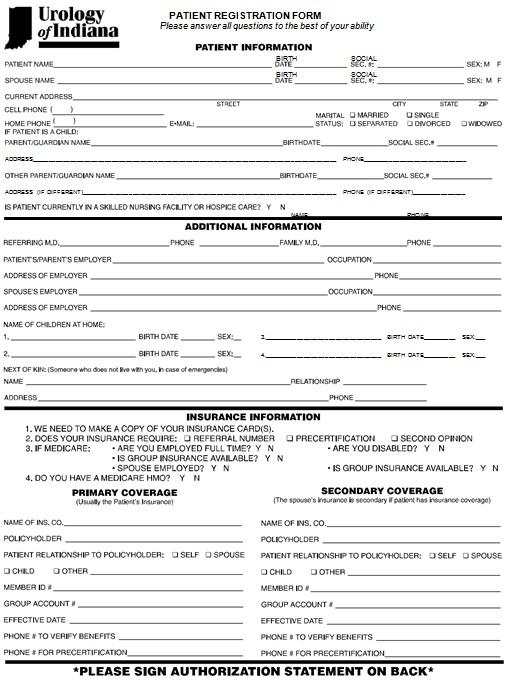 new patient registration form 1