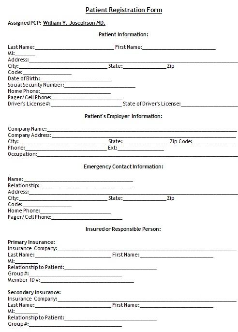 new patient registration form 31