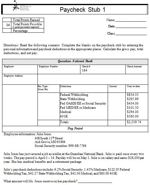 pay stub template 14