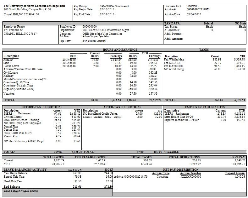 pay stub template 17