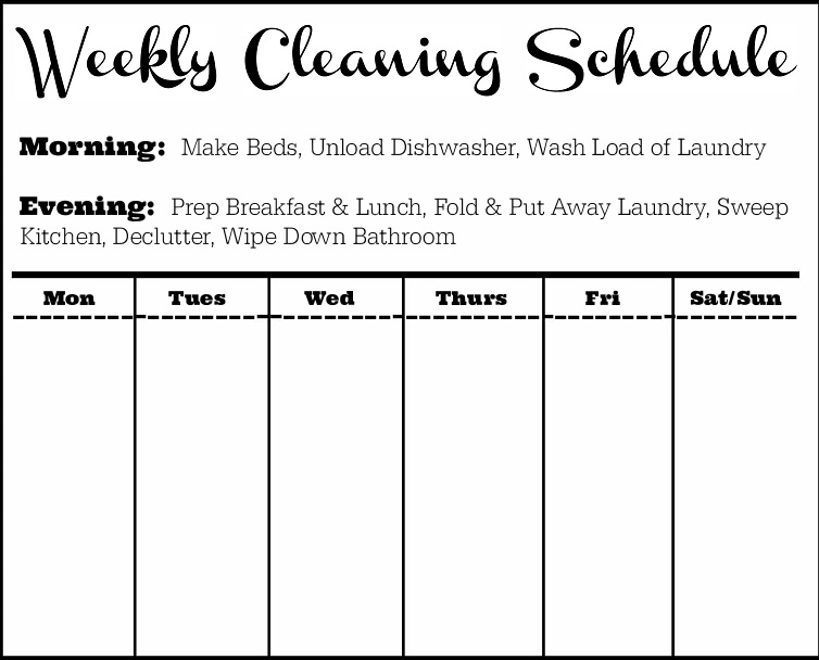 27+ Free House Cleaning Checklist Templates[Excel+Word+PDF]