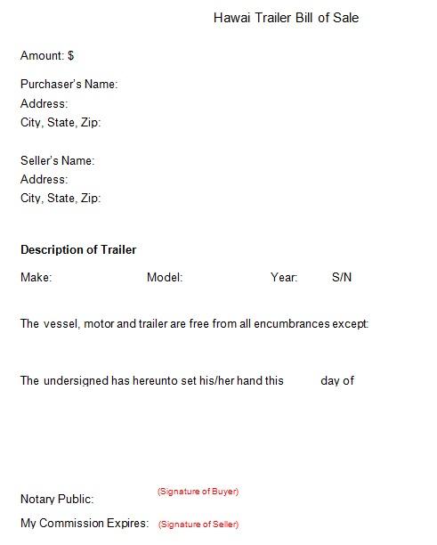 bill of sale template 28