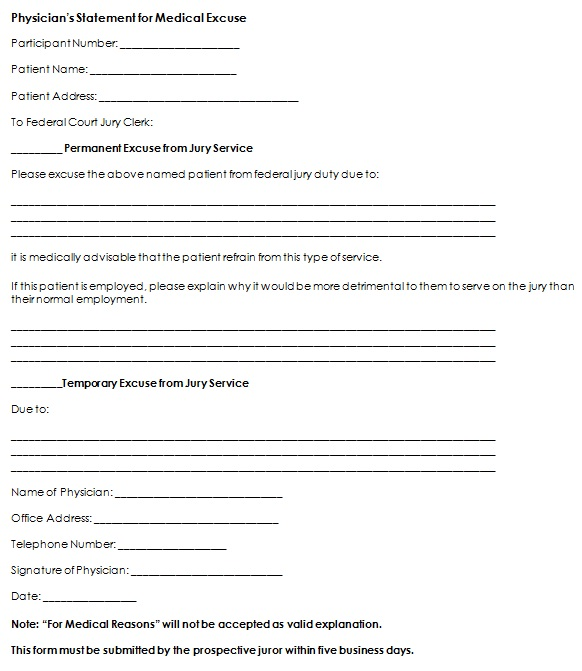 doctors note template 17
