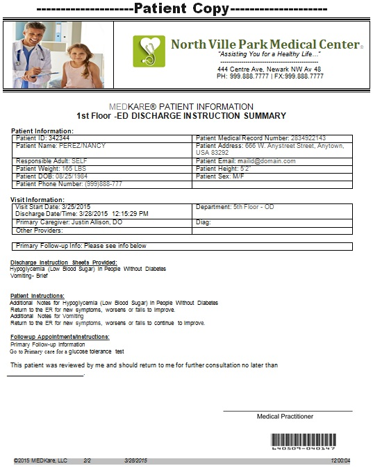 doctors note template 8