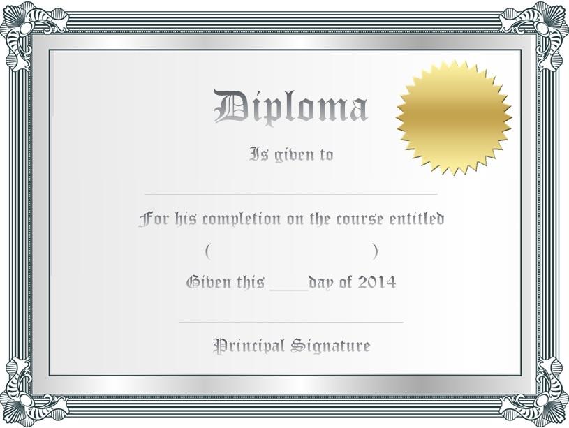 high school diploma template 20