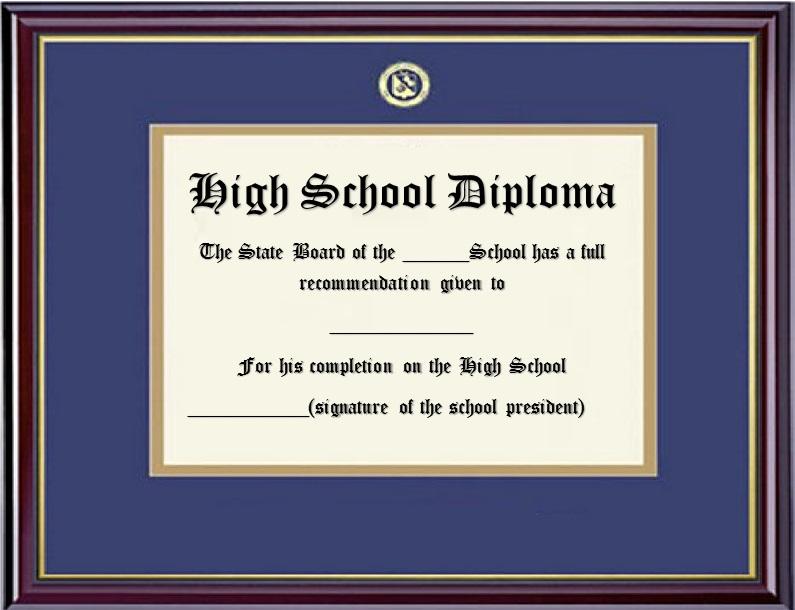 high school diploma template 26