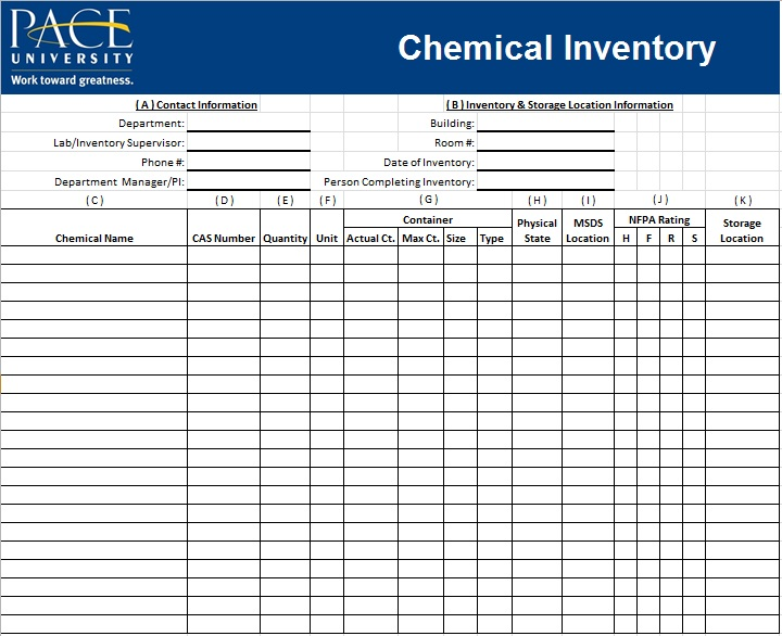 inventory spreadsheet template 10