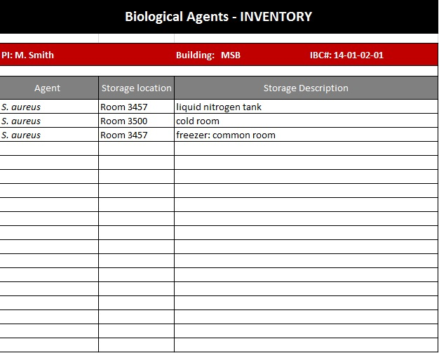 inventory spreadsheet template 19