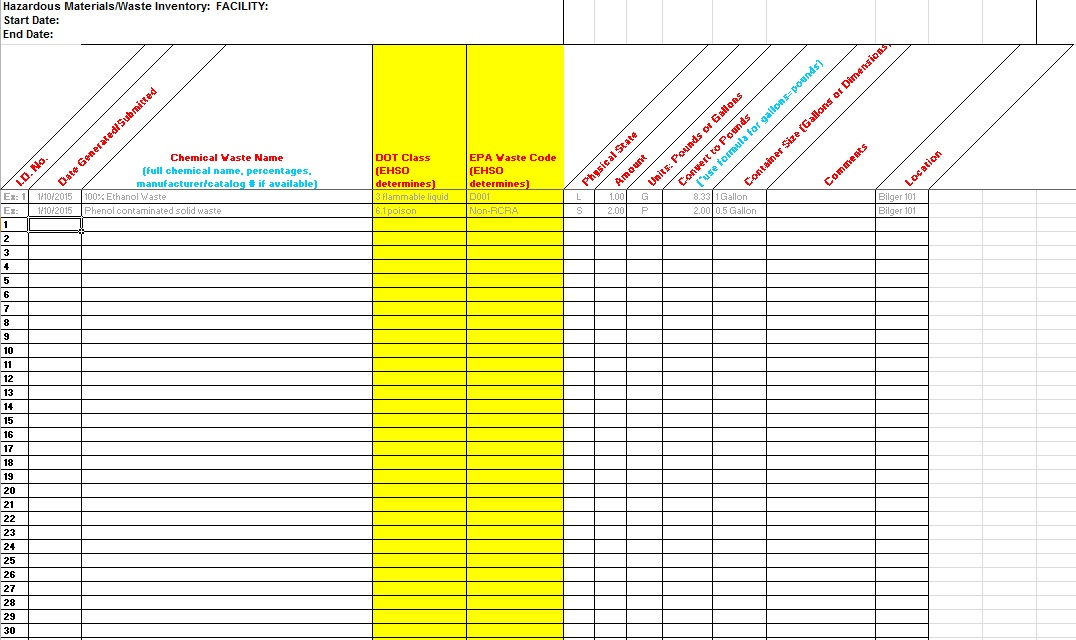 inventory spreadsheet template 7