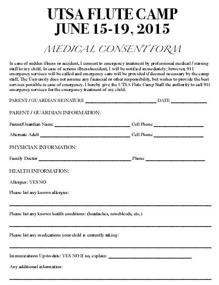 medical consent form 10