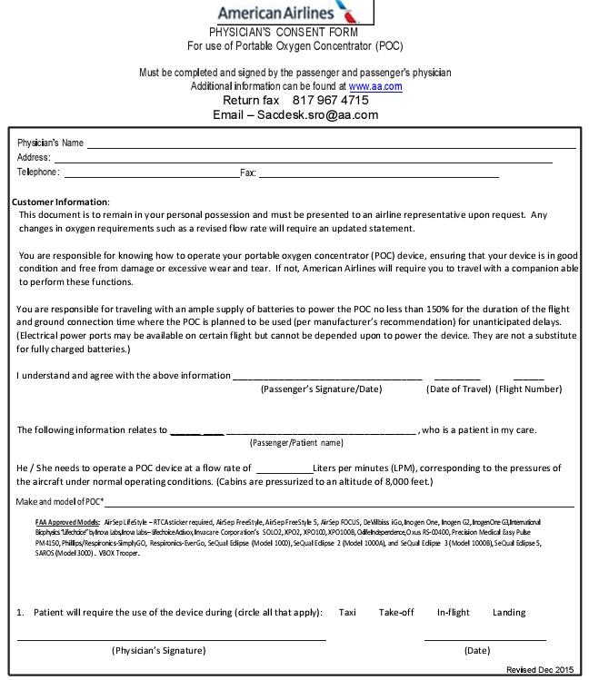 medical consent form 7