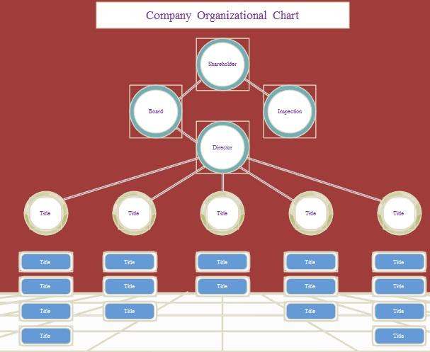 organogram template 12