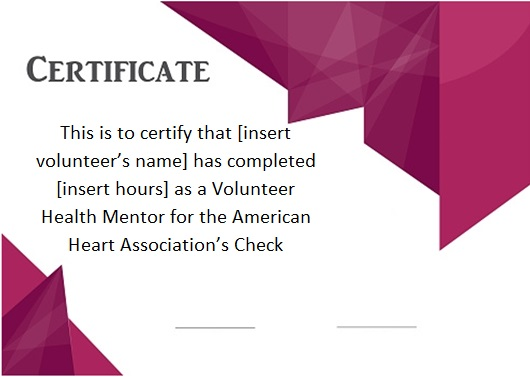volunteering certificate template 19